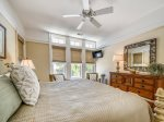 King Bedroom with Pool and Ocean Views at 10 East Wind
